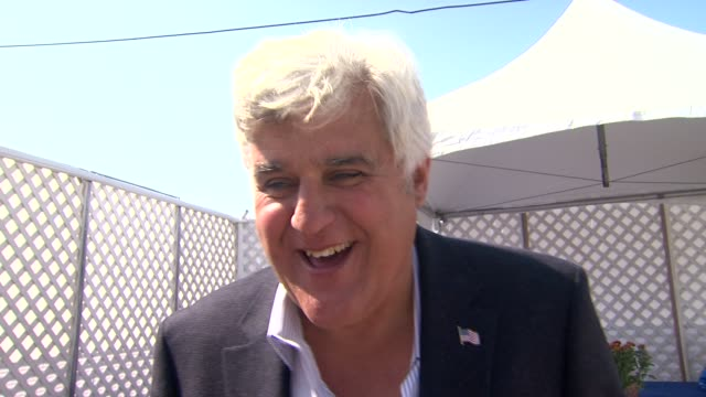 jay leno on why he wanted to be a part of the nautica malibu triathlon if he'd consider participating in the athletic aspect of it next year what he... - 63rd annual primetime emmy awards stock videos and b-roll footage