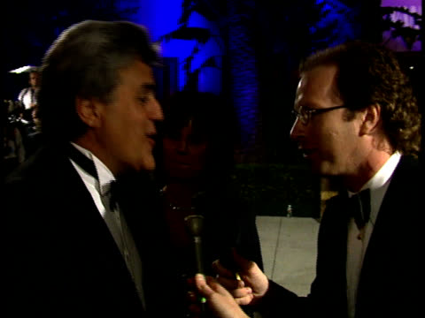 jay leno talks about his oscar pool. - vanity fair oscar party stock videos & royalty-free footage