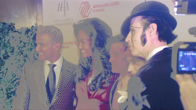 jay manuel kimora lee simmons phillip bloch and guests at the the 2007 aafa american image awards at the grand hyatt hotel in new york new york on... - kimora lee simmons stock videos & royalty-free footage