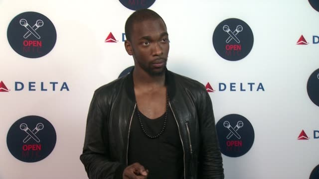 jay pharoah at 2nd annual delta open mic with serena williams at arena event space on august 26 2015 in new york city - jay pharoah stock videos and b-roll footage