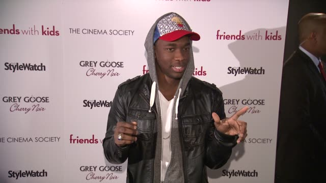jay pharoah at 'friends with kids' new york special screening on 3/5/2012 in new york ny united states - jay pharoah stock videos and b-roll footage