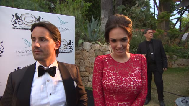 jay rutland, tamara ecclestone at puerto azul experience on may 21, 2014 in cannes, france. - azul stock videos & royalty-free footage