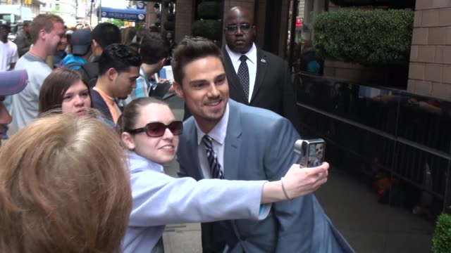 Jay Ryan at the 2013 CW Upfront Presentation in New York NY on 5/16/13