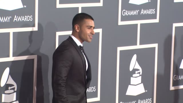 jay sean at the 53rd grammy awards - arrivals at los angeles ca. - grammy awards stock videos & royalty-free footage