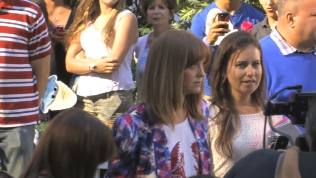 jayma mays and christina ricci at celebrity sightings in new york jayma mays and christina ricci at celebrity on july 30 2013 in new york new york - jayma mays stock videos and b-roll footage