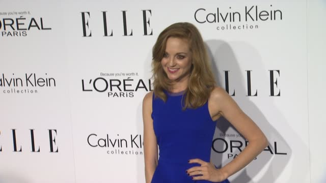 jayma mays at 19th annual elle women in hollywood celebration on in beverly hills ca - jayma mays stock videos and b-roll footage