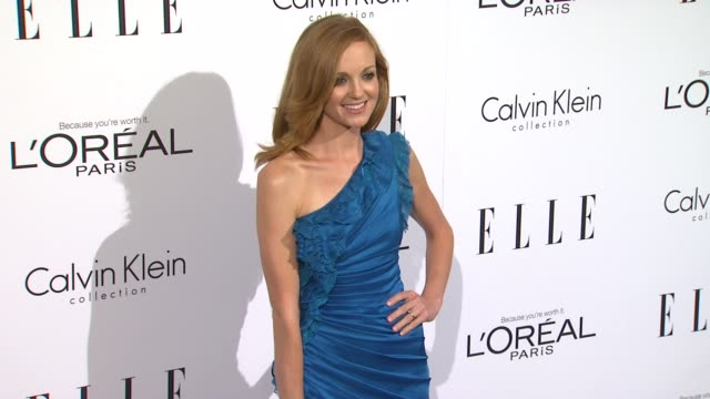 jayma mays at the elle's 18th annual women in hollywood tribute at beverly hills ca - jayma mays stock videos and b-roll footage