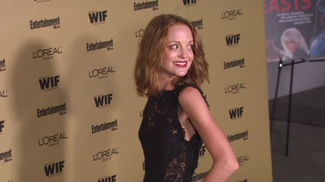 jayma mays at the entertainment weekly and women in film pre-emmy party at west hollywood ca. - pre emmy party stock videos & royalty-free footage
