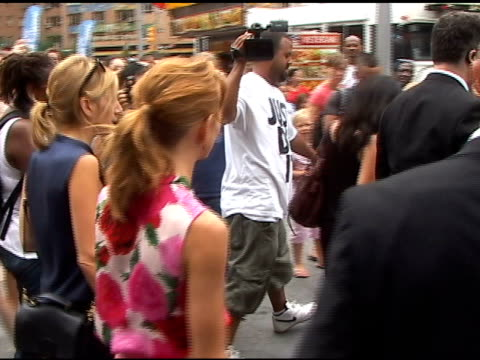 jayma mays waves to fans as she departs central park in new york 07/25/11 - jayma mays stock videos and b-roll footage