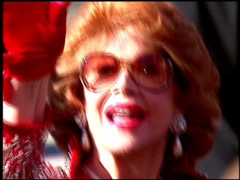 jayne meadows at the 1996 emmy awards arrivals at the pasadena civic auditorium in pasadena california on september 8 1996 - pasadena civic auditorium stock videos & royalty-free footage
