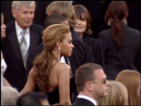 jayz and beyonce at the 2005 academy awards at the kodak theatre in hollywood california on february 27 2005 - beyoncé knowles stock videos & royalty-free footage