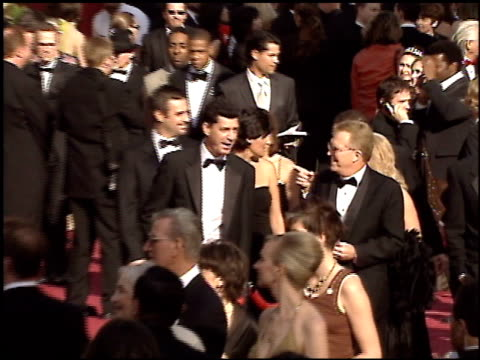 stockvideo's en b-roll-footage met jay-z at the 2005 academy awards at the kodak theatre in hollywood, california on february 27, 2005. - 77e jaarlijkse academy awards