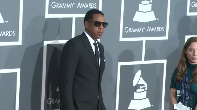 JayZ at the 51st Annual Grammy Awards Part 4 at Los Angeles CA