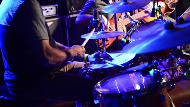 jazz drummer - jazz music stock videos & royalty-free footage