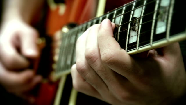 jazz guitar - early rock & roll stock videos & royalty-free footage