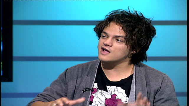 jamie cullum interview; england: london: gir: int jamie cullum interview sot - discusses forthcoming gig with his brother - jamie cullum stock videos & royalty-free footage