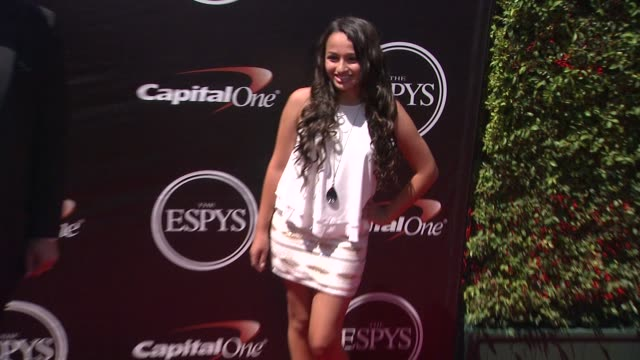 jazz jennings at the 2015 espys at microsoft theater on july 15 2015 in los angeles california - microsoft theater los angeles stock videos and b-roll footage