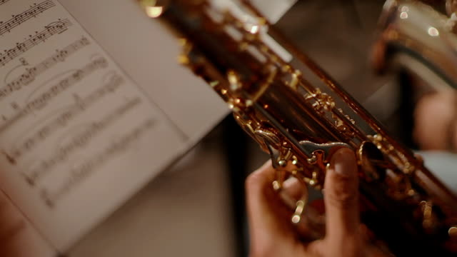 Jazz saxofon spelare