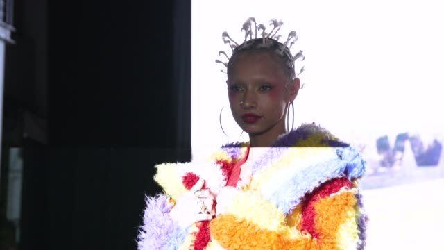 GBR: The London Fashion Week A/W 2020 - The International Woolmark Prize 2020