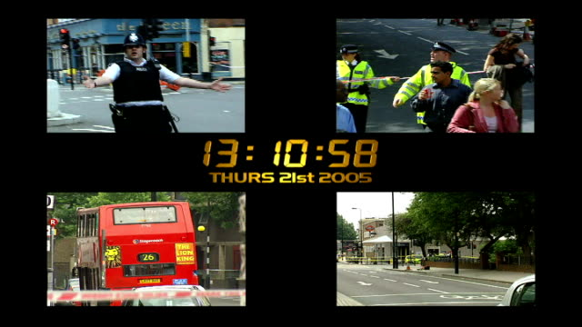 leaked report july 2005 england london july 2005 london bombings and stockwell shooting - ストックウェル点の映像素材/bロール