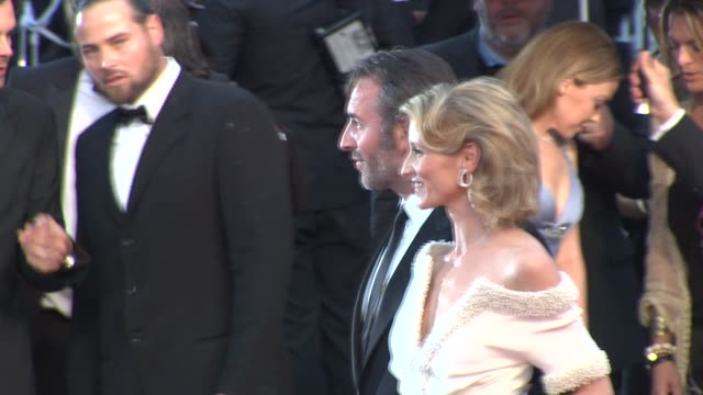 Jean Dujardin and Alexandra Lamy at Closing Ceremony Therese Desqueyroux Premiere 65th Cannes Film Festival at Lumiere on May 27 2012 in Cannes France