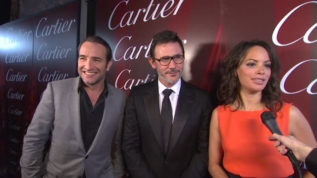 Jean Dujardin Michel Hazanavicius Berenice Bejo on how it feels to be a part of the Palm Springs International Film Festival what it means to Michel...