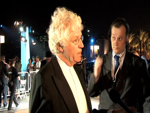 jean jaques annaud at the doha tribeca film festival 2009 - day 1 highlights at doha . - day 1 stock videos & royalty-free footage