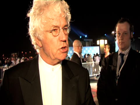 jean jaques annaud on the team who prepared the festival, on the festival competing with the other film festivals, on meeting his contemporaries at... - day 1 stock videos & royalty-free footage