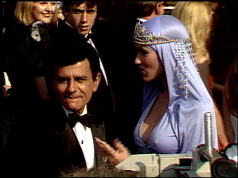 jean kasem at the 1988 emmy awards outside at the pasadena civic auditorium in pasadena, california on august 27, 1988. - 1988 stock videos & royalty-free footage