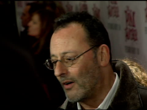 Jean Reno at the 'The Pink Panther' World Premiere at the Ziegfeld Theatre in New York New York on February 6 2006