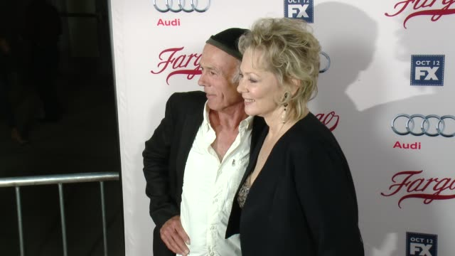 jean smart and michael hogan at fx's fargo los angeles premiere at arclight cinemas on october 07 2015 in hollywood california - arclight cinemas hollywood stock videos & royalty-free footage