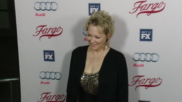 jean smart at fx's fargo los angeles premiere at arclight cinemas on october 07 2015 in hollywood california - arclight cinemas hollywood stock videos & royalty-free footage