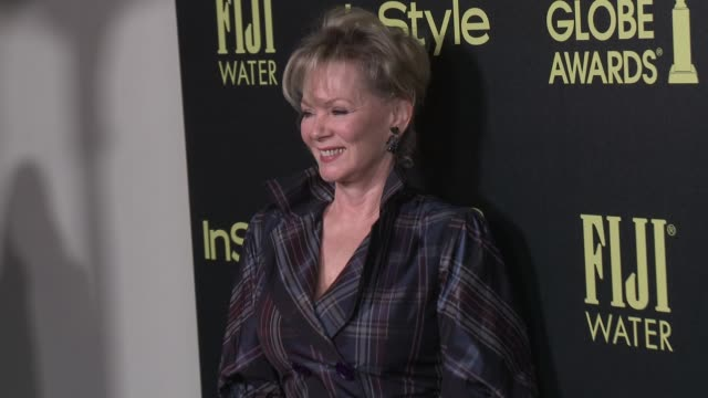 vídeos de stock e filmes b-roll de jean smart at the hollywood foreign press association and instyle celebrate the 2016 golden globe award season at ysabel on november 17 2015 in west... - prémio globo de ouro