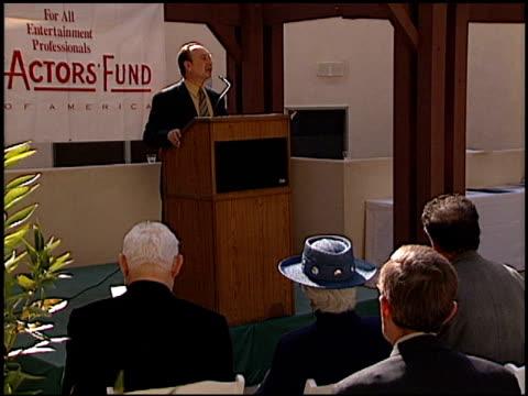 jean stapleton at the palm view aids housing dedication on november 19, 1998. - stapleton stock videos & royalty-free footage