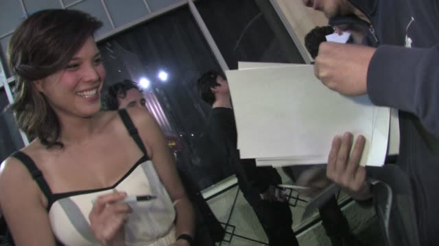 Jeananne Goossen greets fans at The Vow after party in Hollywood 02/06/12