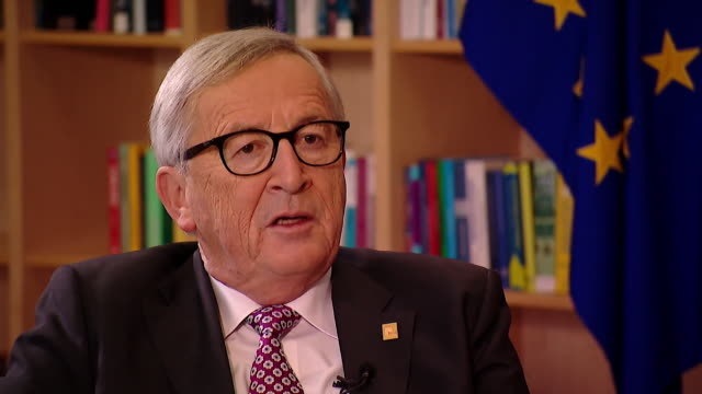 JeanClaude Juncker saying Brexit is 'the responsibility of Britain only of Britain nobody else'