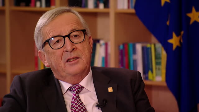JeanClaude Juncker saying with regards to Theresa May's Brexit agreement 'this is a sad moment I am not happy but I am happy that we have a deal'