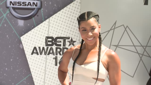 Jeanette Jenkins at 2016 BET Awards in Los Angeles CA