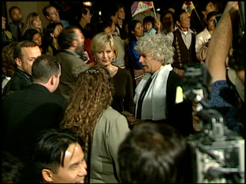 jeanjacques annaud at the 'seven years in tibet' premiere at cineplex odeon in century city california on october 6 1997 - odeon cinemas stock videos & royalty-free footage