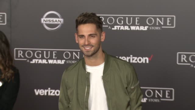 JeanLuc Bilodeau at Rogue One A Star Wars Story World Premiere at the Pantages Theatre on December 10 2016 in Hollywood California