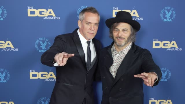 jeanmarc vallée and nathan ross at the 71st annual dga awards at the ray dolby ballroom at hollywood highland center on february 02 2019 in hollywood... - director's guild of america stock videos & royalty-free footage