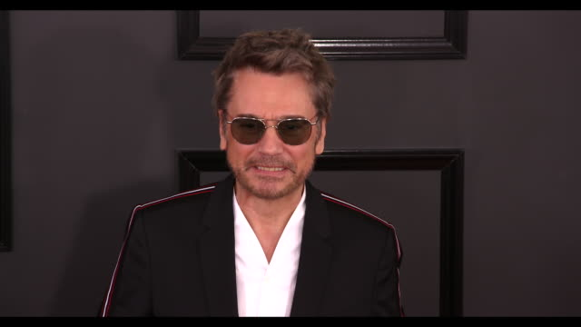 JeanMichel Jarre at the 59th Annual Grammy Awards Arrivals at Staples Center on February 12 2017 in Los Angeles California 4K