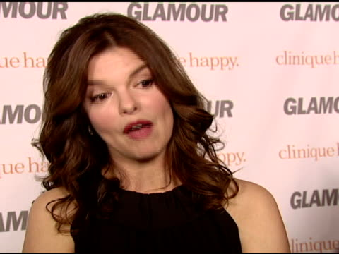jeanne tripplehorn on what it was like working with rita wilson meeting the glamour reader who inspired the film's story what makes her happy and... - bracelet stock videos & royalty-free footage