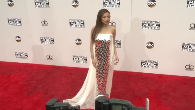 jeannie mai at 2016 american music awards at microsoft theater on november 20 2016 in los angeles california - 2016 american music awards stock videos and b-roll footage