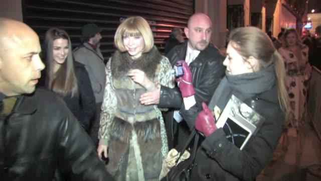 JeanPaul Gaultier Ready to Wear Paris Fashion Week Celebrity Sightings In attendance Aissa maiga Jane Birkin Anna Wintour Arielle Dombasle micky...