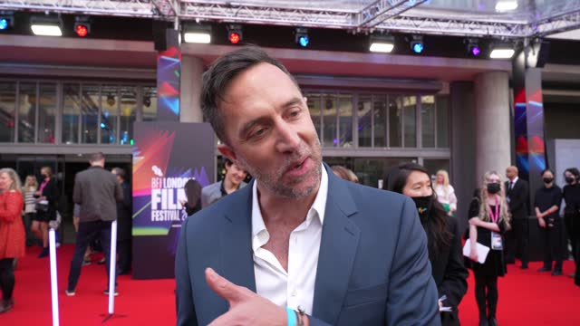 jean-philippe vine on olivia coleman's charater, on liam payne making a song for the film, the humour of the fun at world premiere screening of 20th... - humour stock videos & royalty-free footage