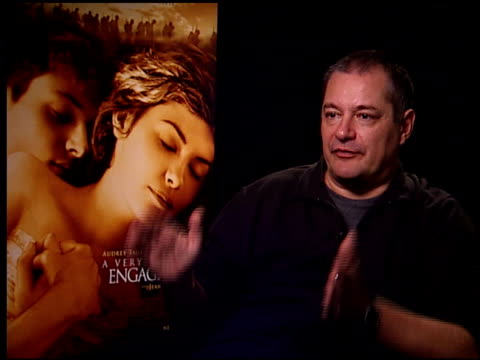 vídeos de stock, filmes e b-roll de jeanpierre jeunet on maintainging the authenticity of the time period the movie takes place at the 'a very long engagement' press day at the four... - um longo domingo de noivado