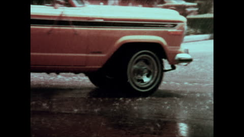 1975 jeep cherokee montage - television advertisement stock videos & royalty-free footage