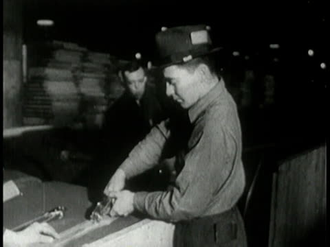1943 montage jeeps being crated for shipping overseas / united states - crate stock videos & royalty-free footage