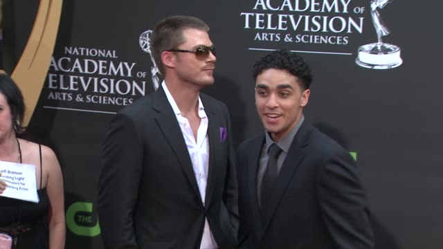 Jeff Branson EJ Bonilla at the 36th Annual Daytime Emmy Awards at Los Angeles CA